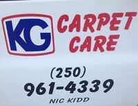 KG carpet care steam cleaning