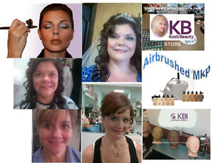 WEDDING MAKEUP ARTISTRY - AIRBRUSHED & CUSTOM BLENDED FOUNDATION Windsor Region Ontario image 2