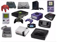 Vintage Video game Consoles , Games Wanted for cash..Nintendo , Sega ,Atari, Star Wars, ZX, etc