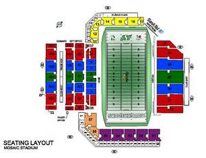 2 tickets to the Riders Labor Day game Sept 4 - Great Seats