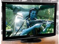 Panasonic Viera TX-P42VT20B 42-inch Widescreen Full HD 1080P 3D Plasma TV with Freeview