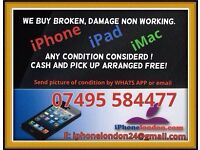 iphones wanted, Damage or Broken