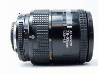 NIKON MICRO 28-85 f3.5 lens