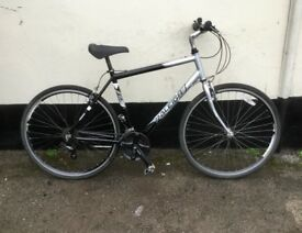 "GENTS RALEIGH TOWN/HYBRID BIKE 18"" FRAME £65"