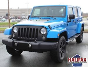 2014 JEEP WRANGLER UNLIMITED with Dual Top!!