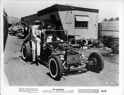 The Choppers original 1962 8x10 phot Ford Model T drag race car in junk yard for sale  San Juan Capistrano