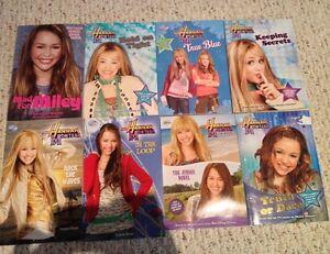 8 Hannah Montana books