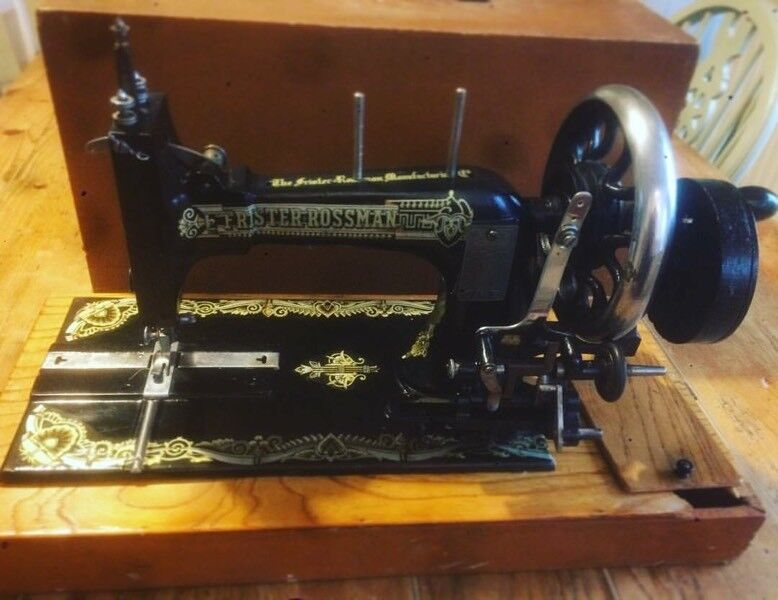 FRISTER ROSSMAN SEWING MACHINE PRE 1900