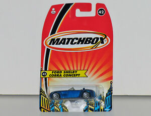 Matchbox Ford Shelby Cobra Concept 1:64 Scale Diecast