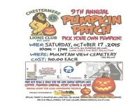 9th annual Chestermere Lions Pumpkin Patch