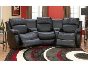 Home theatre couch 5 piece sofa sectionnel omega 5 pi ces for Meuble brick montreal