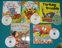 Primary Reading Books with Cds Turkey Theme