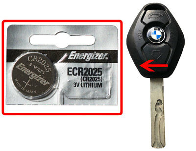 BMW 530i 540i M5 201 E46 X5 Battery Energizer ECR2025 for Remote Key Transponder