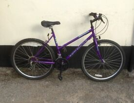 "LADIES UNIVERSAL MOUNTAIN BIKE 18"" FRAME £45"