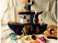Fisher price toy boat