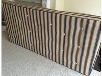 Single orthopaedic mattress (second hand)