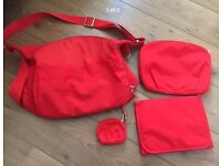 Stokke Xplory v3 red changing bag