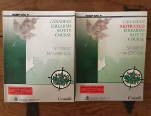 Canadian Firearms Safety Course Handbook + Restricted