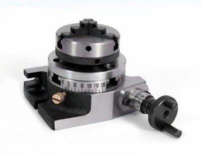 Teilapparat Rundtisch Ø 80 mm mit 65 mm Dreibackenfutter - NEU