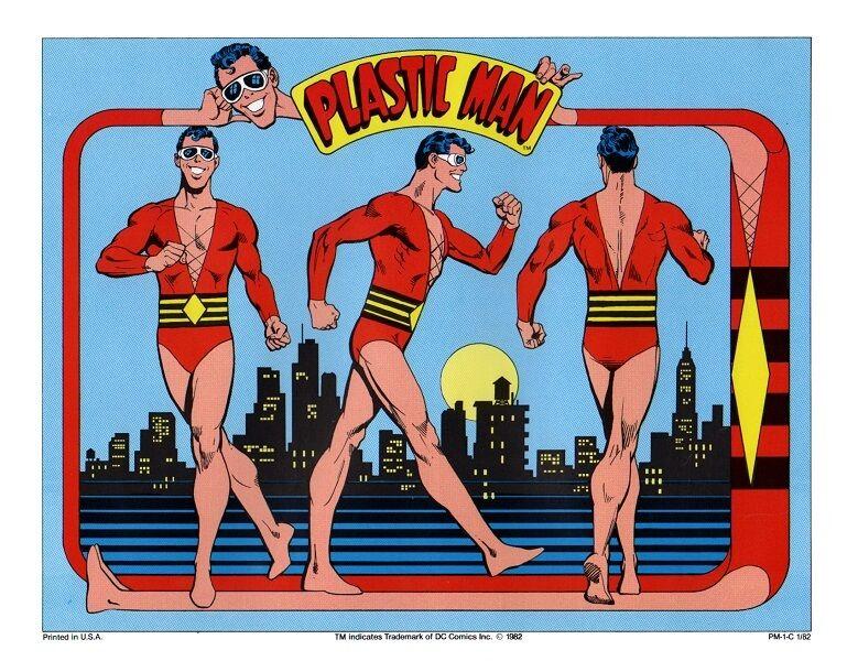 DC PRINT - PLASTIC MAN Model Sheet
