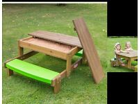 little tikes picnic / sand tables new
