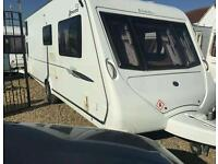 Elddis avante club with bunk beds 6 berth 2009 touring caravan