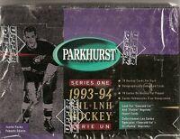 1993-94 Upper Deck Parkhurst 1 Jumbo Hockey Box