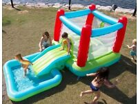 Bouncy castle + swimming pool RRP£130. New in box.