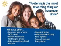 Foster Carer - Optimistic, Confident and Positive People Required - £450 pw