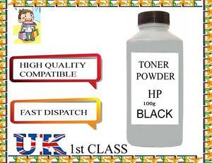 REFILL TONER POWDER 100g  for HP TONER CARTRIDGE