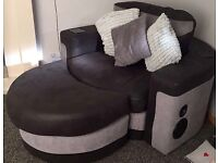 Sofa and a arm chair