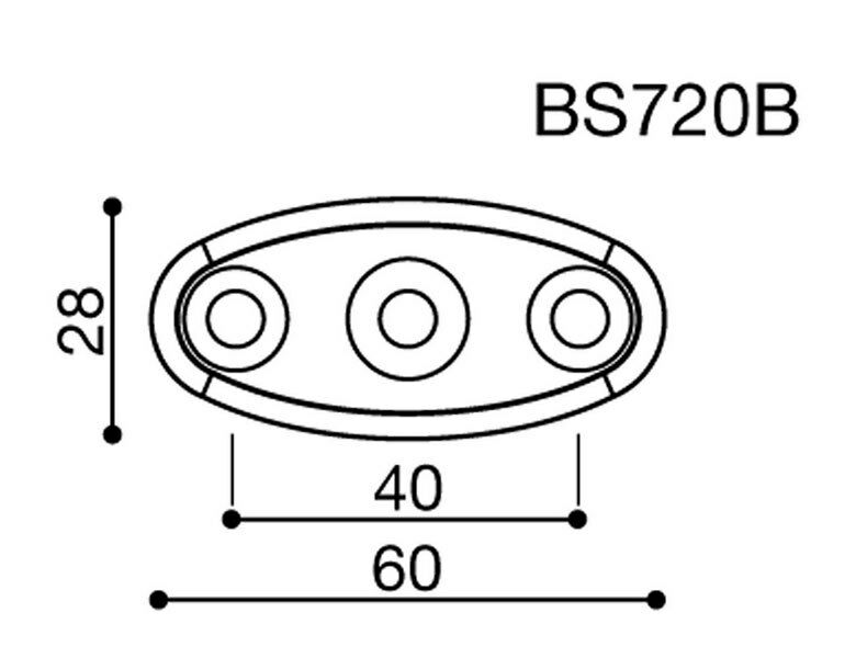 Rizoma Mirror Adapter BS720 Honda CBR 600 F Hornet VFR 800