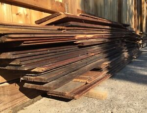 Reclaimed Wood - Vintage Floor Boards - Gone This Weekend