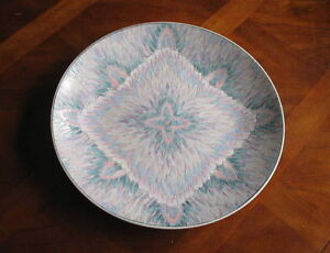 Birk's Decorative Plate - Flame Pattern
