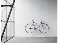 Wooden bike mount / rack