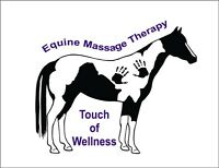 TOUCH OF WELLNESS EQUINE MASSAGE THERAPY!