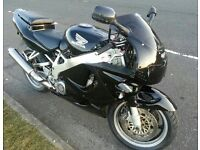 Honda fireblade project track bike streetfighter