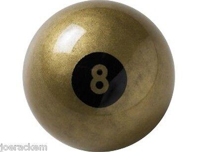 "NEW Aramith 2.25"" GOLDEN 8 BALL - 2 1/4 INCH - FREE SHIPPING"