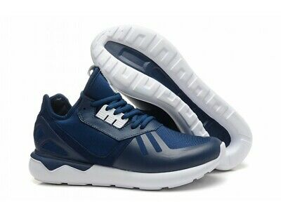 adidas Originals Mens Tubular Runner Trainers B41273 Blue