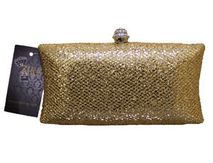 Almost FREE Clerance Sale ZIKS Box Clutch Evening Bag Prom Bride