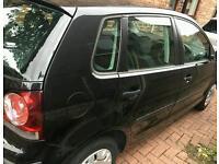 Vw polo 1.2 black 2006 5 door