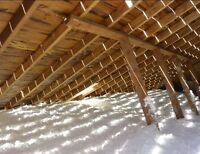 Attic Insulation Upgrades Top-Ups Renovation New Construction