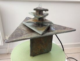 Slate Indoor water feature slate in fully working condition.
