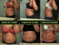 It Works Wraps and defining gel