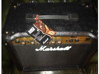 Marshall MG 15CD Guitar Amp.