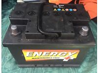 CAR BATTERY 12V (ENERGY)