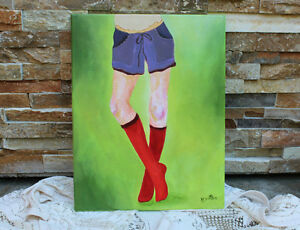 Original Fashion Illustration Painting West Island Greater Montréal image 3