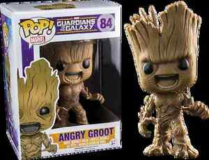 FUNKO POP! MARVEL--GUARDIANS OF THE GALAXY--ANGRY GROOT FIGURE ( Edmonton Edmonton Area image 1