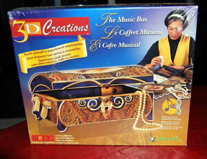 NEW SEALED Puzz-3D Wrebbit CREATIONS THE MUSIC BOX