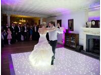 Led starlight dance floor hire , donut van , limousine hire, photo booth mirror , 4ft LOVE letters